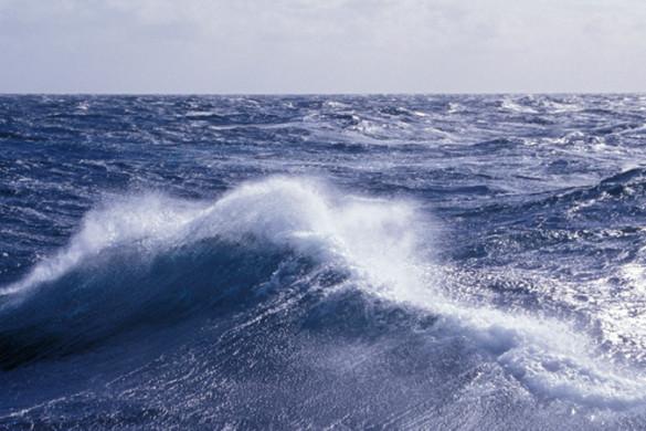 Rough seas