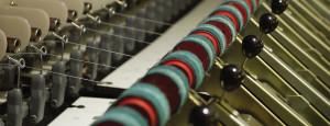 Wool spinning machinery