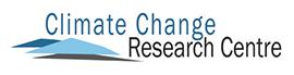 Climate Change Research Centre logo.