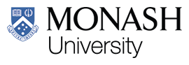 Monash University logo.