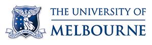 The University of Melbourne logo.