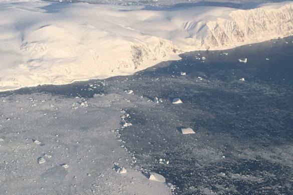 Greenland ice sheets