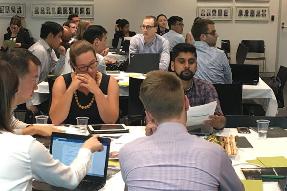 Participants in the Young Professionals event held at the Actuaries Institute in Sydney
